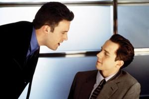 Ben Affleck's superb salesmanship at work